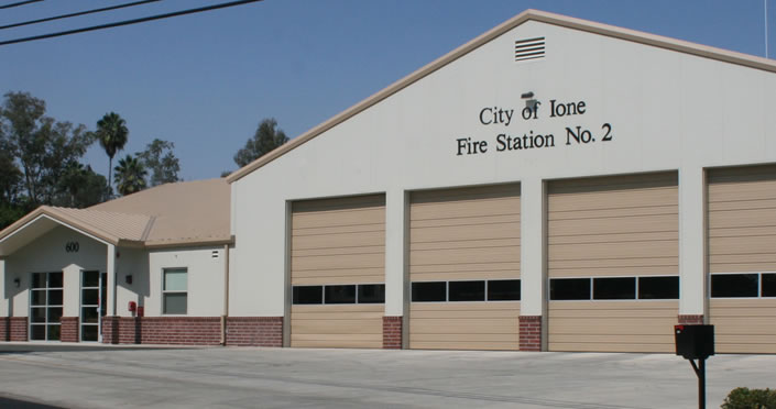 interior banner fire department